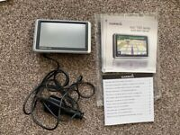 GARMIN nüvi 1300 series Sat Nav with instruction manual and booklet