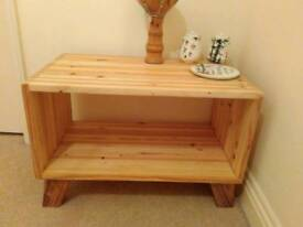 Handmade coffee table / media stand