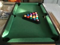 Children size pool table (for £20)