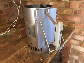 Weber portable coal chimney starter