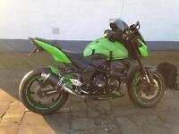 Kawasaki Z750 LBF 2012