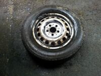 vito 110cdi 2002year model wheel + tyre 195/70r15c