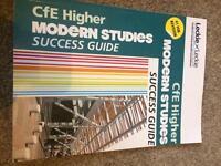 Modern Studies Higher Success book