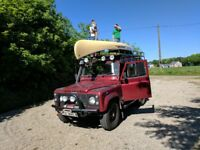 Land Rover Defender 110 TD5 Double Cab Pickup. Manual. 4x4