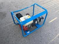 HONDA GX160 GENERATOR 2.4 kVA 5.5 HP good condition with Mecc Alte alternator - best you can get