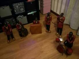 Collectable wooden jazz band