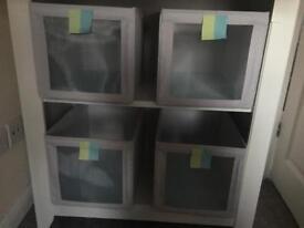 Ikea nursery storage baskets
