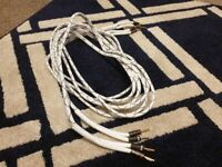 2x3M Speaker Cable with Banana Plugs