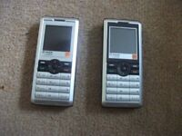 2 SAGEM MY 302 X MOBILE PHONES IN PERFECT WORKING ORDER BATTERIES TESTED