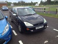 W Reg Ford Focus, MOT August 2016. Needs an Alternator hence Spares or Repairs, To clear £100.