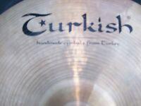 "Turkish 14"" Hi-Hat cymbals for sale."