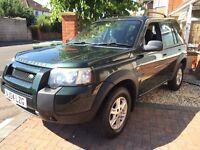 Land Rover Freelander 04 plate long MOT 5 Door Petrol