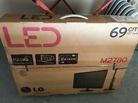 "LG LED TV 27"""