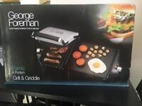 Never been used George Foreman grill