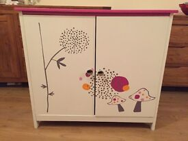 A lovely Girls Cupboard from Vertbaudet