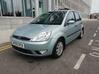 ONLY 51K GENUINE MILEAGE-*AUTOMATIC*GHIA FORD FIESTA-SUPERB EXAMPLE-YEAR MOT-FULL SERVICE HISTORY