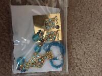 Necklace earring pendant sets
