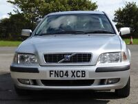 Volvo S40 1.6, Silver, Leather, Alloys, AC, CD Changer, Good tyres, Good Service history, MOTd March