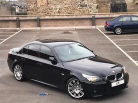 BMW 530D M SPORT AUTO + LCI + SAT NAV + LEATHER + SPYDER ALLOYS