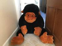 Giant monkey teddy