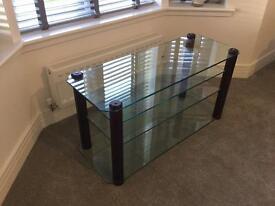 Stands Unique glass TV/ hifi stand