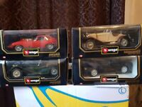 Bburago 1/18 scale diecast cars vintage.29 in total. for sale  Enfield, London