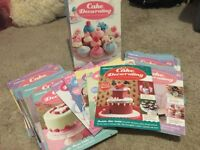 Cake Decorating magazines by DeAGOSTINI (1-81 plus 6 special editions)