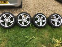 Seat alloys 18inch alloy wheels with tyres