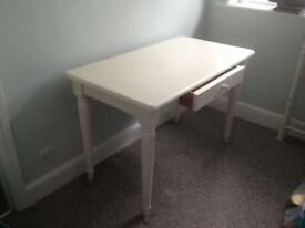 Aspace white dressing table