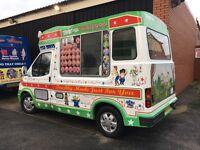Ford Transit Whitby Morrison Soft Ice Cream Van Carpigiani Icecream Machine - Full Cowl - Full MOT