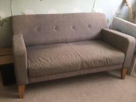 John Lewis two-person sofa
