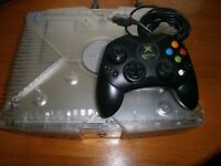 Original Crystal Xbox with over 7000 games installed