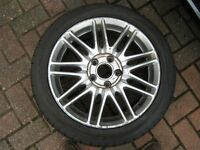 "Honda 5 stud 17"" wheels and tyres"