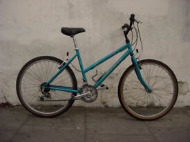 Ladies Mountain/ Commuter Bike by Raleigh, Turquoise, JUST SERVICED / CHEAP PRICE!!!