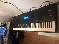 Kurzweil 88note weighted master keyboard-amazing sounds with flight case. bargain