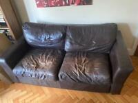 **FREE**Leather Sofa