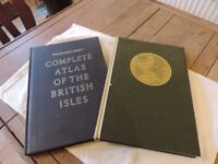 Atlas x 2 The Readers Digest - Great World Atlas & Complete Atlas of the British Isles