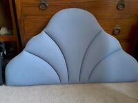 Bed head for single bed Light blue