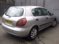 NISSAN ALMERA 54 REG AUTOMATIC NEW SHAPE £950 ONLY **** 5 DOOR HATCHBACK