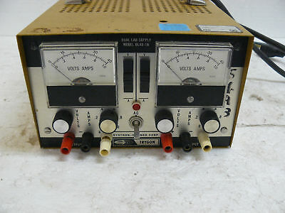 Systron Donner Trygon Dl40-1a Dual Power Supply