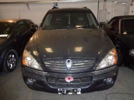 Ssangyong Kyron SX Auto Estate 2006 Breaking all parts