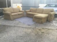 Ikea corner sofas set