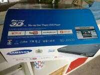 Samsung Blu-ray Player Smart 3D Bluray