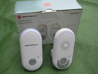 Brand New Motorola MBP8 Digital Audio Baby Monitor