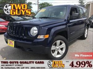 2014 Jeep Patriot Sport 4WD 5SPD ALLOYS CRUISE