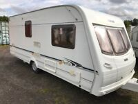 Lunar delta/520/2berth 17ft 2005 motor mover awning px welcome
