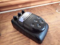 Vintage Ibanez phaser pedal for electric guitar.