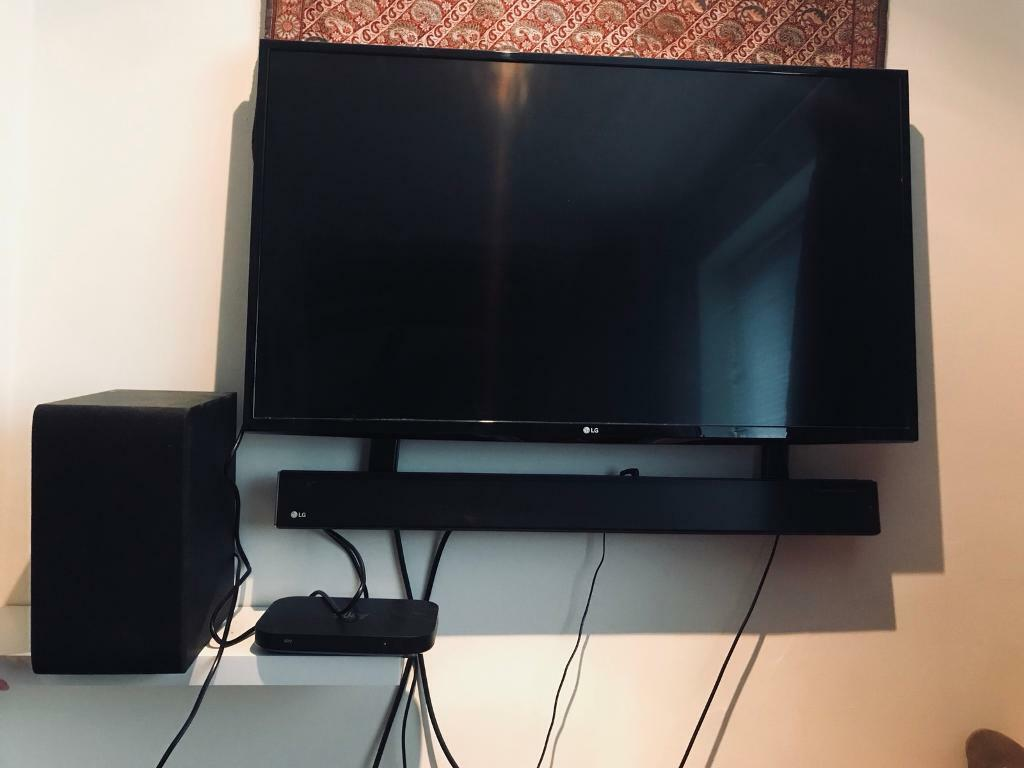 Lg Sj4 2 1 Wireless Sound Bar Amp Subwoofer In Andover