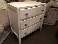 @SOLID WOOD CHEST OF DRAWERS@