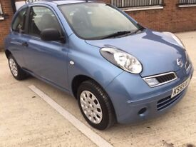 2010 Nissan Micra 1.2 Petrol, Manual Gearbox, Low Mileage Clean In&Out. Run Very Smooth Long Mot